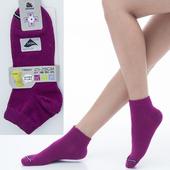 《【KEROPPA】可諾帕》舒適透氣減臭加大超短襪x紫紅兩雙(男女適用)C98005-X(25~28CM(公分))