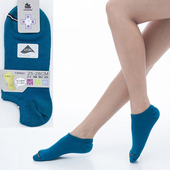 《【KEROPPA】可諾帕》舒適透氣減臭加大踝襪x土耳其藍兩雙(男女適用)C98004-X(25~28CM(公分))