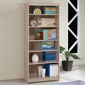 《Homelike》伊絲2.7尺開放書櫃(原木色)
