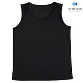 《台塑生醫》Dr's Formula冰晶玉科技涼感衣-男用背心款(黑)一件入(XL)