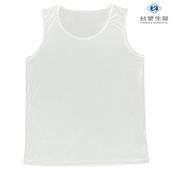 《台塑生醫》Dr's Formula冰晶玉科技涼感衣-男用背心款(白)一件入(L)