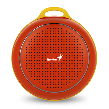 Genius 昆盈 SP-906BT 便攜型藍牙無線喇叭(魔力紅)