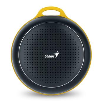 Genius 昆盈 SP-906BT 便攜型藍牙無線喇叭(消光黑)
