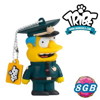 《義大利TRIBE》辛普森一家 8GB 隨身碟_孔警官(WIGGUM)