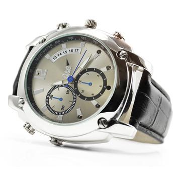 1080P手錶針孔攝影機 偽裝 蒐證器(皮革款)