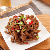 《欣明生鮮肉品》QQ牛筋片-滿3包免運(250公克±10%/1包)
