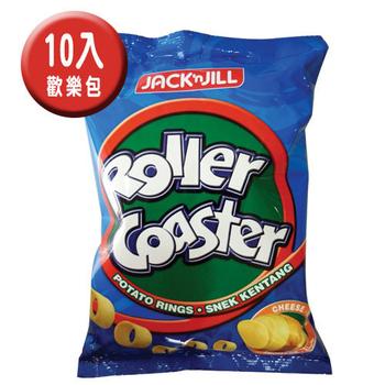 JACK n JILL 《JACK n JILL》 馬鈴薯圈-起司味(即期良品2017.06.02)(70g/包*10包)