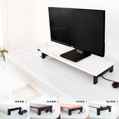 《dayneeds》(高機能 5 合 1 )USB鍵盤雙向鋼鐵腳座螢幕架(卡布奇諾)