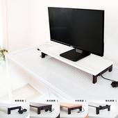 《dayneeds》(高機能 5 合 1 )USB鍵盤雙向鋼鐵腳座螢幕架(美式咖啡)