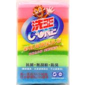 《洗王》彩虹海綿菜瓜布(20包)