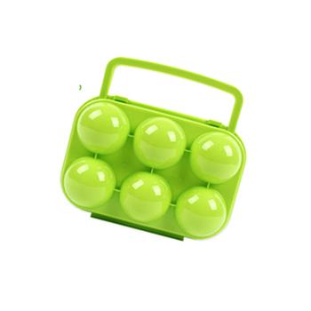 韓國 SELPA 韓國 Selpa-雞蛋收納盒6顆-粉綠色(個)