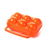 《韓國 SELPA》韓國 Selpa-雞蛋收納盒6顆-橘色(個)