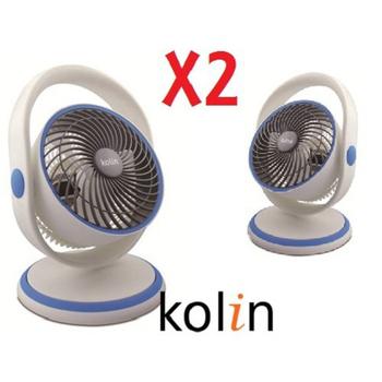 KOLIN 歌林 【二入】KOLIN 8吋手提造型擺頭循環扇 KFC-MN803S 兩組