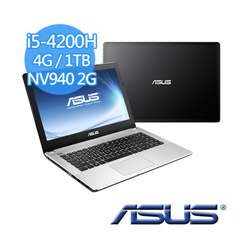 ASUS X450JB-0053D4200H 灰/I5-4200H/4G/1TB/NV 940-2G/DRW/WIN10(灰)