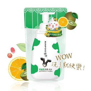 《潤波》1/2全脂牛奶制菌浴慕絲 補充包 700mlX3包