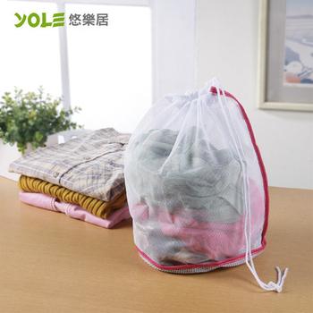 《YOLE悠樂居》束口錐型洗衣袋-小#1229006(4入)