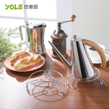 《YOLE悠樂居》鍋具隔熱墊-小#1134008(3入)
