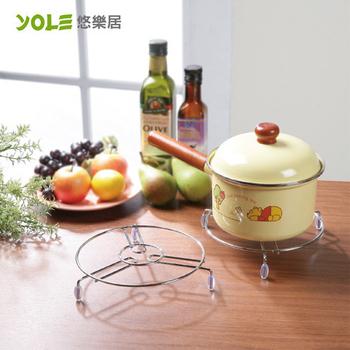 《YOLE悠樂居》鍋具隔熱墊-大#1134009(3入)