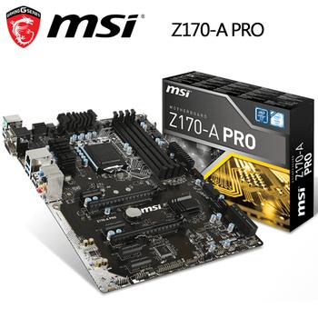 MSI微星 Z170-A PRO 主機板(DDR4 主機板)