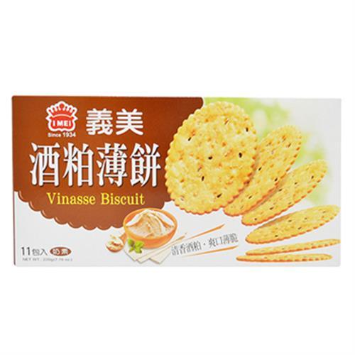 義美 酒粕薄餅(220g/盒)