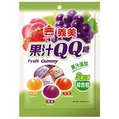 《義美》果汁QQ糖(綜合)(176g/包)