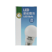 FP LED節能燈泡5W 白光(5W / 100~240V)