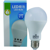 FP LED燈泡 白光#10W(10W / 100V~240V)