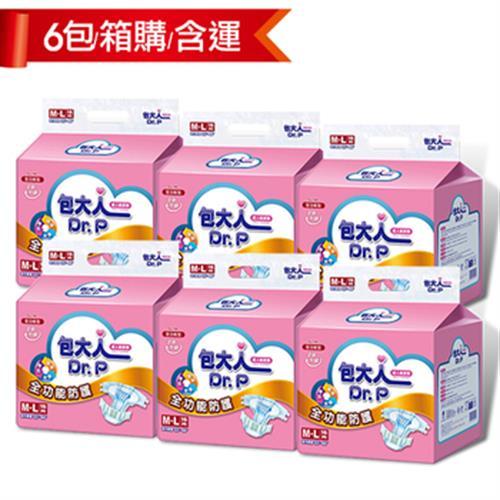 《包大人》全功能型成人紙尿褲-M(16片*6包)