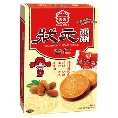 義美 狀元煎餅(杏仁)(224g/盒)