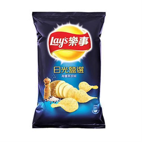 樂事 日光鹽選海鹽黑胡椒(97g/包)