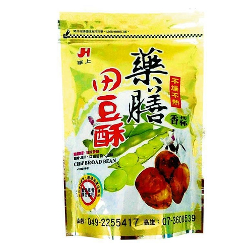 《華上》藥膳田豆酥蒜味(300g+-5g/包)
