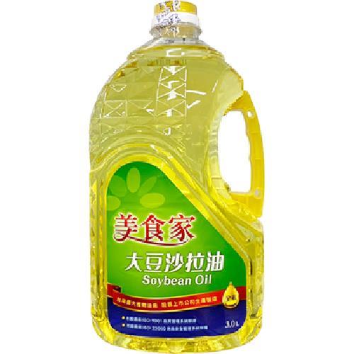 美食家 大豆沙拉油(3公升/罐)