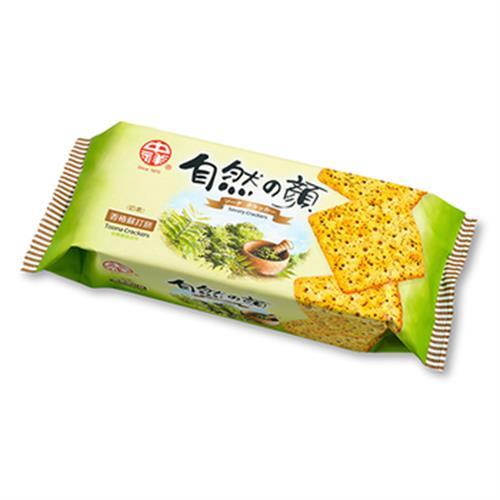 中祥自然之顏 香椿蘇打餅(120g)