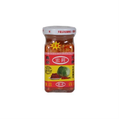 宏昇 宏昇五香辣豆腐乳130g/瓶(130g/瓶)