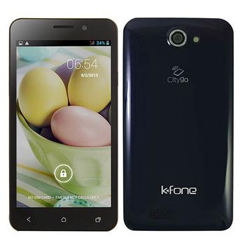 K FONE Ola 5吋NFC四核雙卡雙待智慧型手機(藍)