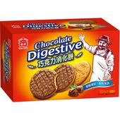 《義美》巧克力消化餅(260g/盒)