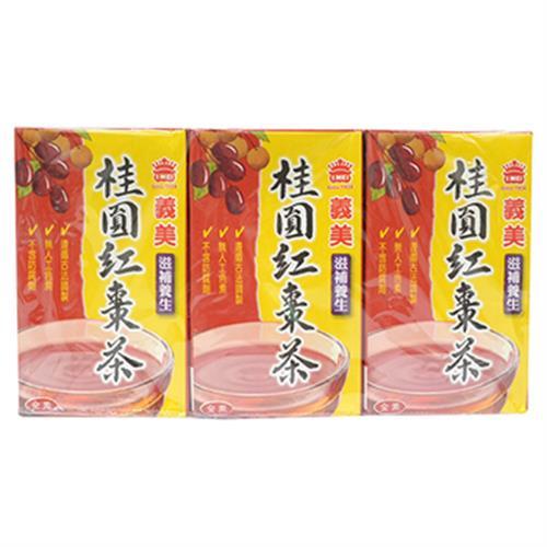 義美 桂圓紅棗茶(250ml*6包/組)