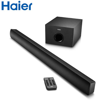 Haier海爾 模音M1 SoundBar無線藍芽環繞劇院音箱(HSD3A047W)送惠而浦長效吸塵器