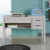 《Homelike》波琳4尺書桌(白雪松)