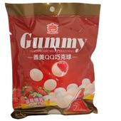 《義美》QQ巧克球(草莓煉乳)(200g/包)