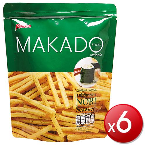 《MAKADO麥卡多》薯條-海苔(27g*6包)