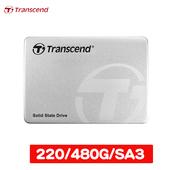 《Transcend 創見》SSD220 480G 2.5吋 SATA3 SSD 固態硬碟