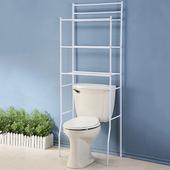 《澄境》純色簡約浴室收納馬桶置物架(純白)