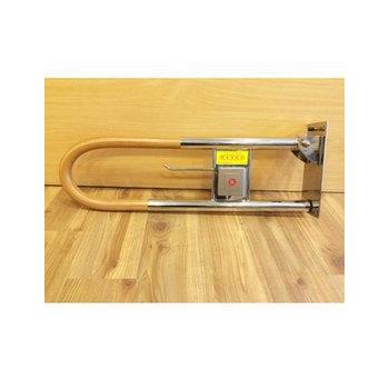 通用無障礙 安全扶手 塑木 活動扶手 (長70cm、高28cm、直徑11.5cm)