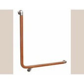 通用無障礙 安全扶手 塑木 L型扶手 (70cm x 70cm)