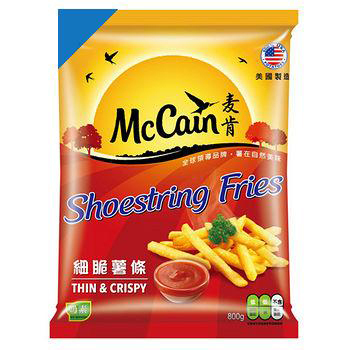 McCain麥肯冷凍細脆薯條(800g)