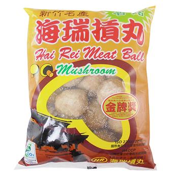 新竹海瑞香菇摃丸(600g+ -10g)