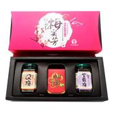 《甲仙農會》有機梅宴芳禮盒-(有機梅精+紫蘇梅+Q梅)(有機梅精+紫蘇梅+Q梅)