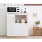《Frama》伊里斯鏡面雙門五格廚房收納櫃(廚房櫃)