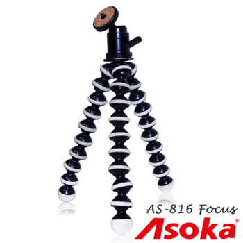 ASOKA AS-816 Focus 魔術腳架組 (含球型雲台) GP8(AS-816 Focus)